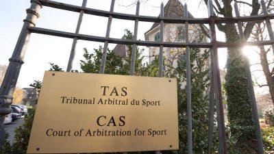 CAS-Entscheidung zu russischen Sportlern am 1. Februar