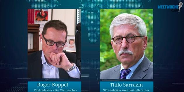 """Sarrazin im Interview mit """"Weltwoche"""": """"Regierende in Deutschland haben Gespür für das Wesentliche verloren"""""""