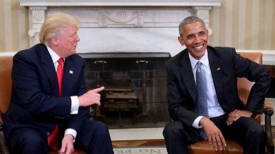 Obama gegen Trump: FBI durfte geheime Infos über Russland nicht mit Trump-Administration teilen