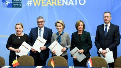 NATO beschließt neue Kommandozentren zur schnelleren Truppenverlegung innerhalb Europas