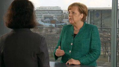 Videobotschaft: Merkel mahnt Fortschritte bei europäischem Asylsystem an