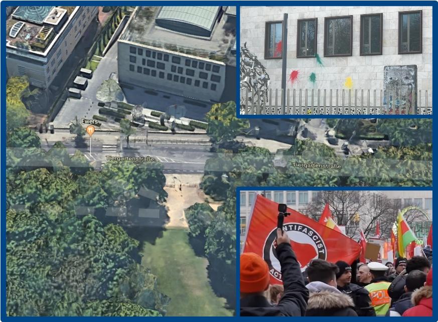 Antifa und Kurden gegen Türken: Weit hinten in der Türkei und nun auch in Berlin
