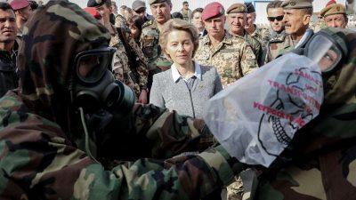 Von der Leyen: Bundeswehr unterstützt Bildung starker und loyaler Armee im Irak