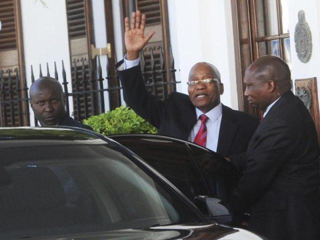 Jacob Zumas zweite Amtszeit hätte 2019 geendet. Foto:AP/dpa