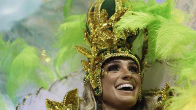 Karneval in Rio beginnt mit Schlüsselübergabe an König Momo