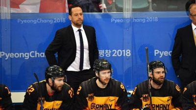Begehrter Bundestrainer nach Olympia-Coup: Zukunft in NHL?