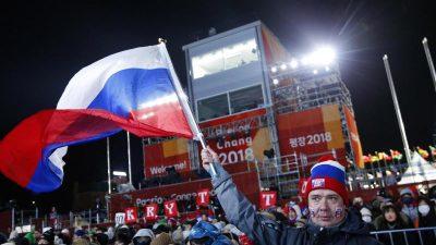 Russisches Olympisches Komitee: Suspendierung aufgehoben