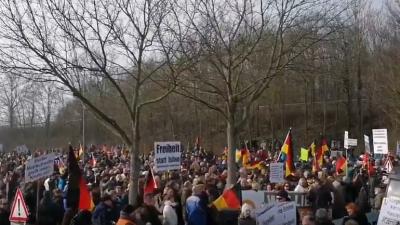 Kandel-Demonstrationen: Das Manifest von Kandel – Livestreams behindert – WhatsApp brach zusammen