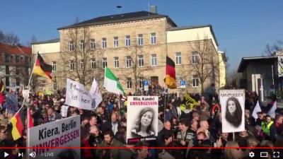Zwei Kandel-Demos: Zusammenfassung vom 24. März 2018