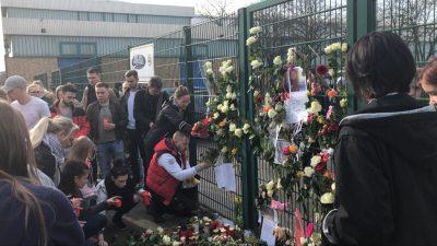 """Gedenktreffen für ermordete Keira: Etwa 300 Menschen nehmen teil – sind """"fassungslos"""""""