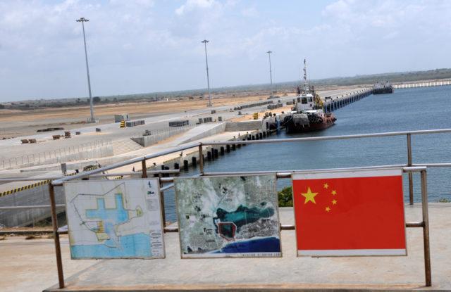 Hambantota Hafen