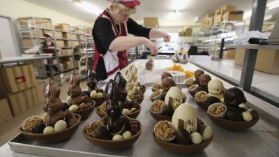 """Hase und Ei: Handel hofft auf """"Erfolg des Vorjahres"""" bei Ostergeschäft"""
