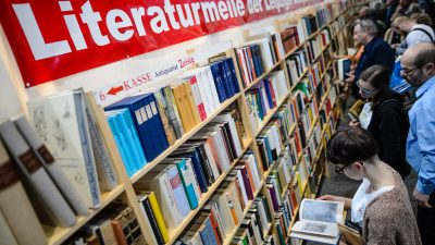 Leipziger Buchmesse öffnet mit Festakt und Preisverleihung