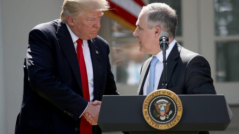 Trump und Pruitt