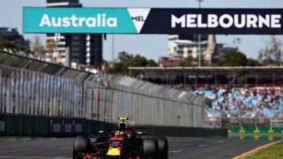 GP von Australien: Ergebnisse des ersten Renntages