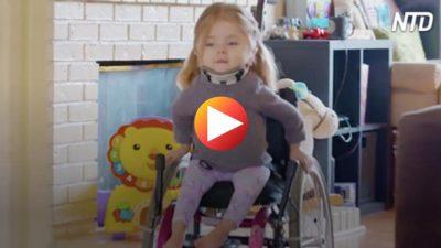 Sie mag sich jeden Knochen in ihrem Körper gebrochen haben – aber dieser 6-jährige ist härter als man denkt!