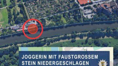 Heidelberg: Angriff am helllichten Tag – Mann schlägt mit Stein mehrfach auf Joggerin ein