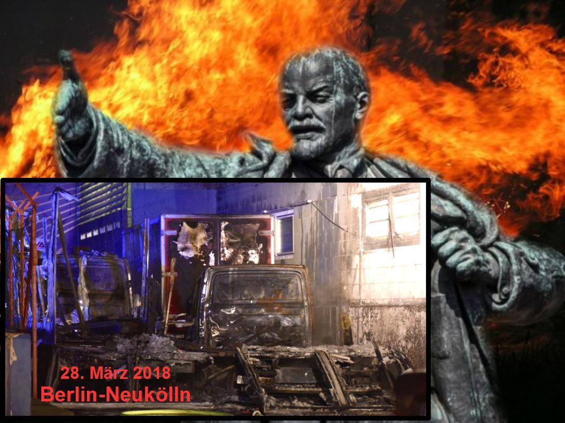 "RAF 2.0 in Neukölln: ""Rachekommando Barbara Kistler"" verübt Brandanschlag auf türkische Firma"