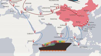 Corona-Krise bedroht Chinas 3,87 Billionen Dollar schwere Belt and Road Initiative