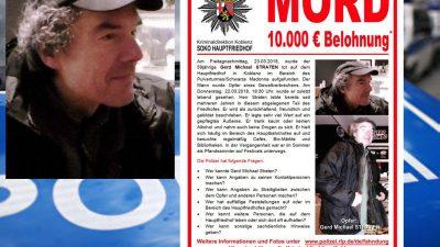 """Obdachlosenmord in Koblenz: """"Der Kopf lag am Tatort"""" – Staatsanwaltschaft bestätigt Details"""