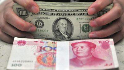 Chinas Währung fällt auf Rekordtief – Wirtschaft schwächelt weiter