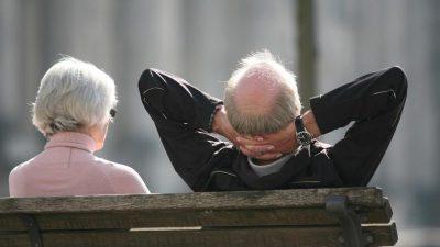 Renten steigen um gut drei Prozent – Ostrentner kommen auf 95,8 Prozent der Renten im Westen