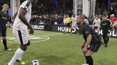 Glanz und Glamour in Brackel: Usain Bolt trainiert beim BVB