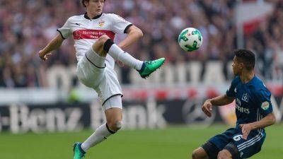 VfB Stuttgart mit Korkut weiter ungeschlagen:1:1 gegen HSV
