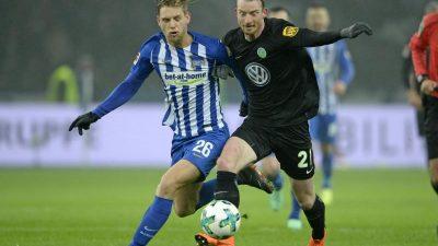 Wolfsburg weiter ohne Sieg unter Labbadia – 0:0 bei Hertha
