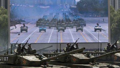 China will USA als Weltmacht ablösen – und nutzt US-Technik zur Weiterentwicklung ihres Militärs