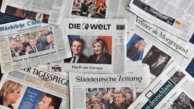 """Vielen Print-Medien läuft das Klientel davon: """"Bild"""" verliert 10 Prozent ihrer Leser – auch """"Spiegel"""" mit starken Einbußen"""