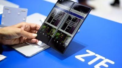 Chinas Smartphone-Hersteller ZTE vor dem Bankrott? – USA stoppen Lieferung von Elektronikteilen