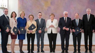 ARD-Umfrage: Die Beliebtheit der Kanzlerin fällt um 18 Prozentpunkte