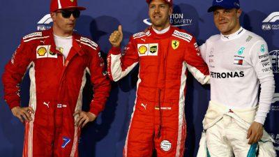 Qualifying: Unfall von Verstappen – Ferrari auf 1 und 2 – Hamilton nur auf Platz 9