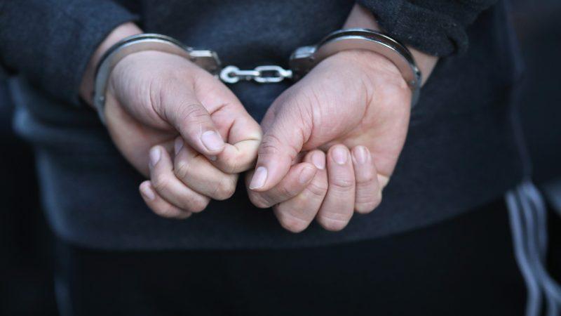 Immigranten Flüchtling Verhaftung