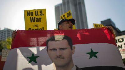 Bundesregierung: Langfristige Lösung des Syrien-Konflikts nur ohne Assad denkbar