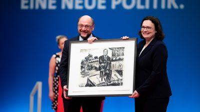 SPD will sich programmatisch erneuern – Andrea Nahles mit nur 66 Prozent zur SPD-Vorsitzenden gewählt