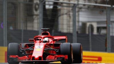 Formel 1: Drittes Freies Training – Ferrari stark und Unfall von Sirotkin