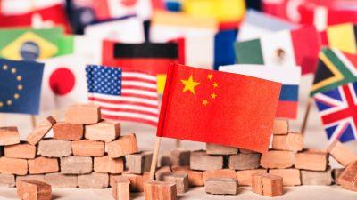 Sprachrohr des chinesischen Regimes droht mit Ausschluss Amerikas aus WTO