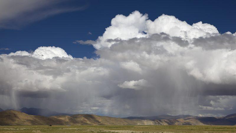 Regen in Tipet
