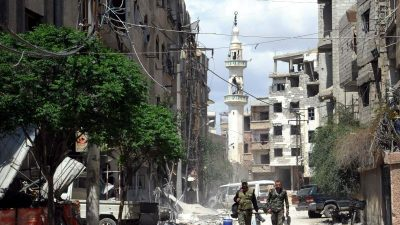 Der Kampf um Syrien: Ein Land als Spielball geostrategischer Interessen