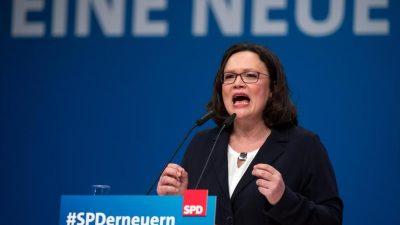 SPD-Aufstand gegen Lebensrecht? – Nahles unter Druck der Genossen: Jungsozialisten stapfen in Lenins Spuren
