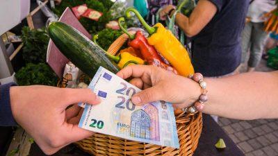 Verbraucherpreise steigen im April um 1,6 Prozent