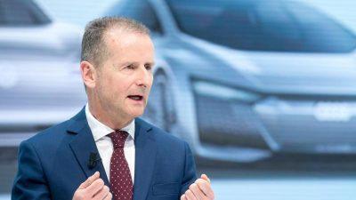 Will Volkswagen-Chef Diess bis zu 30 000 Jobs streichen?