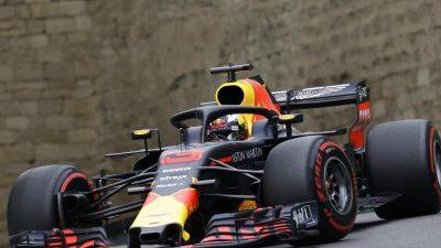 Rennauftakt in Baku: Force-India überraschend gut – Max Verstappen mit technischen Problemen