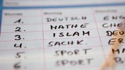 Zur Zukunft der deutschen Bildung: Schulen mit islamischer Prägung, muslimischen Feiertagen und Geschlechtertrennung
