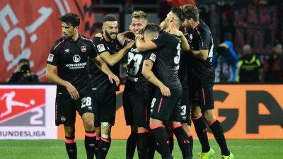 1. FC Nürnberg kann schon für die Aufstiegsparty planen