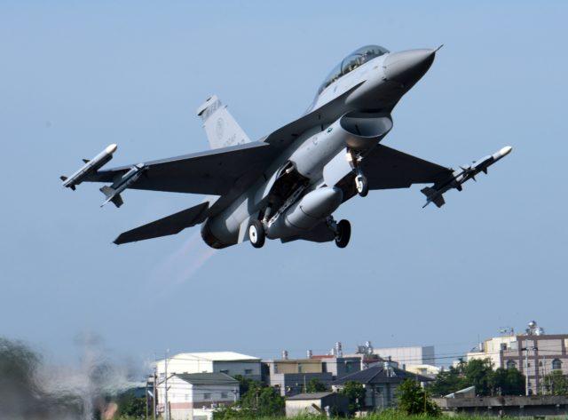 Taiwan F-16 Flugzeug