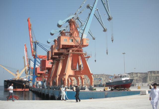 Gwadar Hafen, Neue Seidenstraße