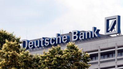Deutsche-Bank-Aktie fällt auf historischen Tiefstand